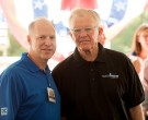 Country Fair Chairman Tom Shumaker and Joe Gibbs